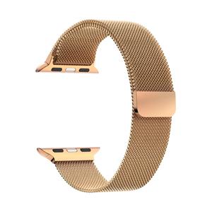 Ремешок из нержавеющей стали для Apple Watch 38/40 mm LYAMBDA CAPELLA DS-APM02-40-RG Gold