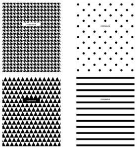 "Тетрадь 96л., А5, клетка ArtSpace ""Узоры. BW Pattern"""