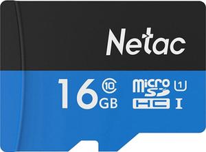 Карта памяти Netac P500 [NT02P500STN-016G-S] 16 Гб + SD Adapter