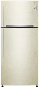 Холодильник LG GN-H702HEHZ бежевый