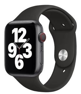 Ремешок силиконовый «vlp» Silicone Band для Apple Watch 42/44 мм, черный