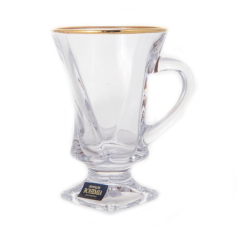 """Набор чайный н/н 100мл. на 6перс. """"Квадро Голд"""