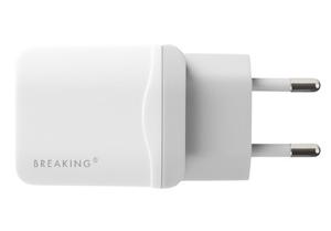 Сетевое ЗУ Breaking 1USB, 2.4A белый
