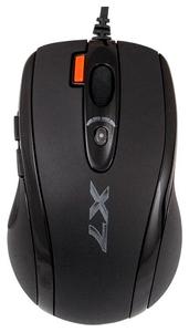 Мышь проводная A4Tech X-710MK черный