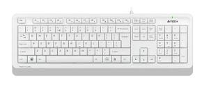 Клавиатура проводная A4Tech FK10 серый