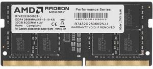 Оперативная память AMD R7 [R7432G2606S2S-U] 32 Гб DDR4