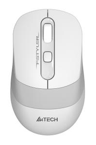 Мышь беспроводная A4Tech Fstyler FG10 белый