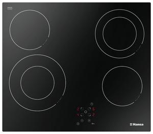 Электрическая варочная поверхность Hansa BHC96506 черный