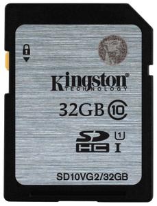 Карта памяти Kingston SD10VG2 32 Гб