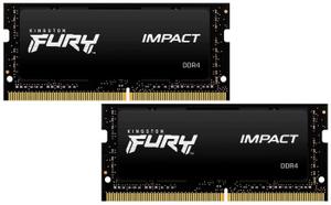 Оперативная память Kingston FURY Impact [KF426S15IBK2/16] 16 Гб DDR4