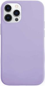 Чехол накладка VLP Silicone Сase для Apple iPhone 12 /12 Pro фиолетовый