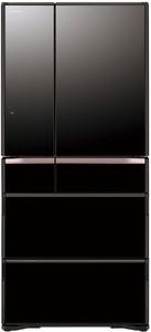 Холодильник Hitachi R-G 690 GU XK черный