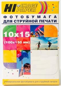 Фотобумага глянцевая магнитная односторонняя (Hi-image paper) 10x15, 690 г/м, 5 л.