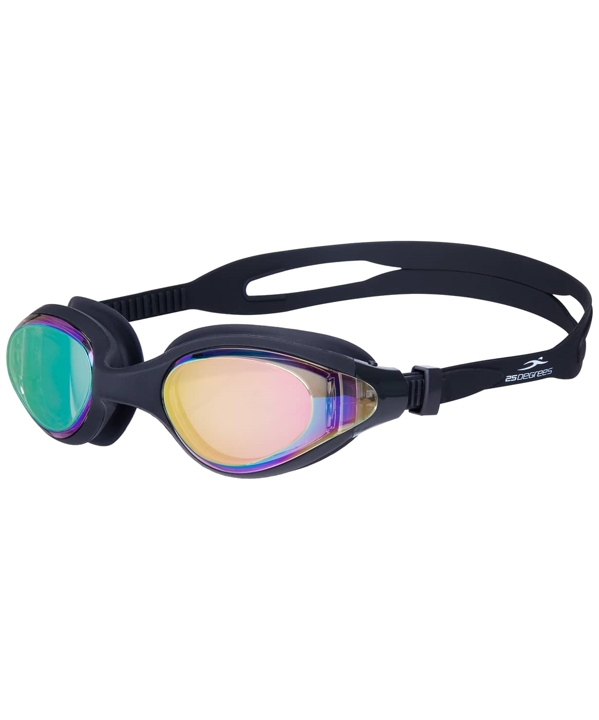 Очки для плавания Prive Mirrored Black