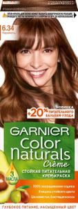 Краска для волос Color Naturals 6.34 Карамель Garnier