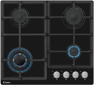 Газовая варочная панель Candy CSVG64SGN черный