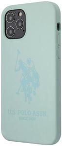 Чехол накладка Polo для Apple iPhone 12/12 Pro зеленый