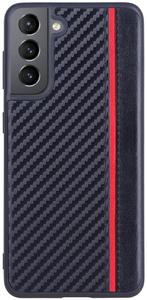Чехол накладка G-Case Carbon для Samsung Galaxy S21 черный