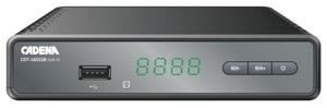 Цифровой TV-тюнер Cadena CDT-1651SB
