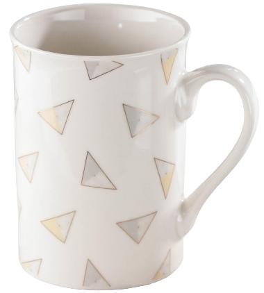 Кружка Доляна «Нюд. Треугольники», 300 мл
