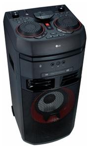 Микросистема LG OK65 черный 500Вт/CD/CDRW/FM/USB/BT
