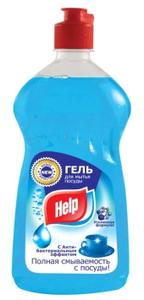 Средство для мытья посуды Антибактериальное 500мл Help