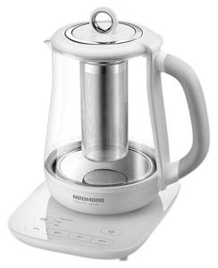 Чайник электрический Redmond RK-G1304D белый