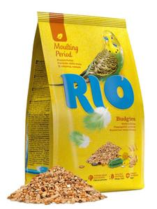 RIO / Корм для волнистых попугайчиков в период линьки 500 гр.