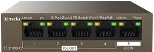 Коммутатор (switch) Tenda [TEG1105PD]
