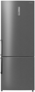 Холодильник Hyundai CC4553F серебристый