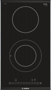 Электрическая варочная поверхность Bosch PKF375FP1E черный
