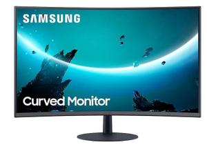 """Монитор Samsung C32T550FDI 32"""" черный"""