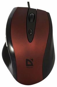 Мышь беспроводная Defender Opera MB-880 красный