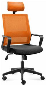 Кресло офисное Norden Бит оранжевый
