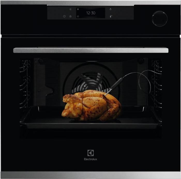 Духовой шкаф Electrolux OKC8P39WX черный