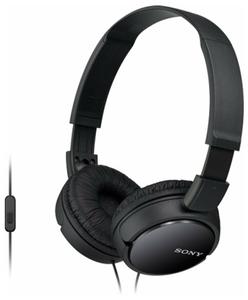 Проводные наушники Sony MDR-ZX110AP черный