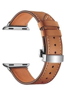 Кожаный ремешок для Apple Watch 42/44 mm LYAMBDA ANNET MANCINI LWA-05-44-BR Brown