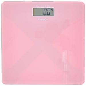 Весы напольные Scarlett SC-BS33E041 розовый