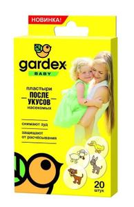 Пластырь после укусов комаров Baby Gardex