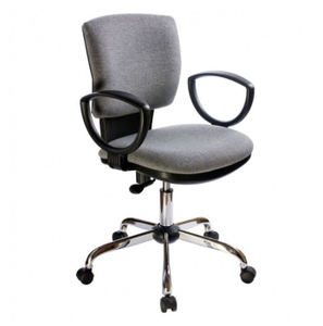 Кресло офисное Бюрократ Ch-626AXSL 10-128 серый