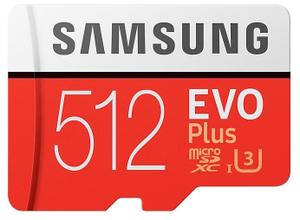 Карта памяти Samsung EVO Plus [MB-MC512HA/RU] 512 Гб
