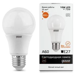 Лампа Gauss LED Elementary A60 20W E27 4100K