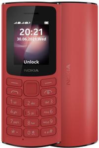 Сотовый телефон Nokia 105 4G DS красный