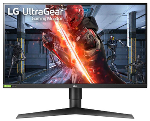 """Монитор LG Gaming [27GN750-B] 27"""" черный"""