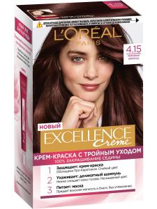 Крем-краска для волос Excellence 4.15 Морозный шокол L'Oreal Paris