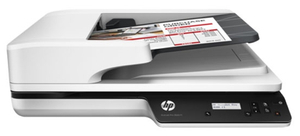 Сканер HP ScanJet Pro 3500 f1 <L2741A> планшетный, А4, ADF, дуплекс, 25стр/мин, 1200dpi, 24bit, USB 3.0