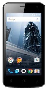 Смартфон Vertex Impress City (4G), черный, ограниченная гарантия