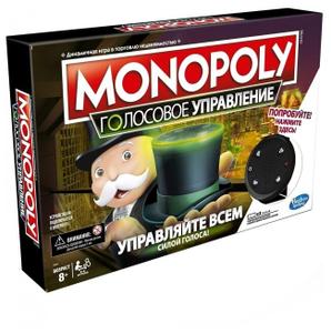 Настольная игра Monopoly Монополия Голосовой банкинг