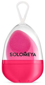 Косметический спонж для макияжа со срезом Flat End blending sponge 1шт Solomeya