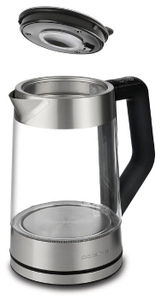 Чайник электрический Polaris PWK 1710CGLD 1.7л. 2200Вт нержавеющая сталь (корпус: стекло)